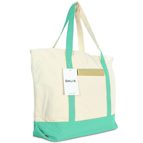 dalix-heavy-duty-cotton-canvas-travel-tote-bag-mint-green