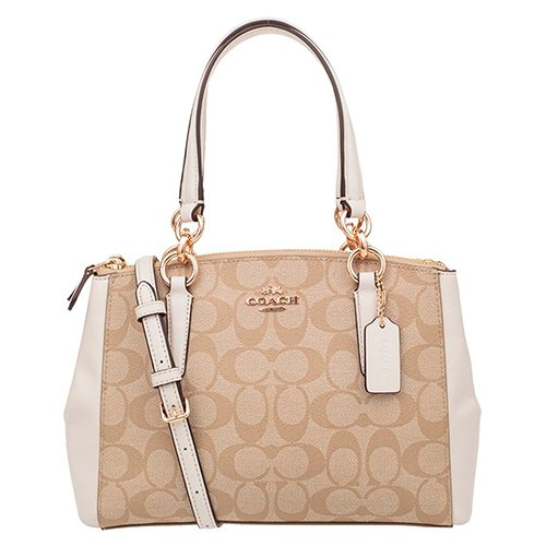 9c0317682754 Coach Christie Carryall in Crossgrain Leather – Best Quality Leather Satchel