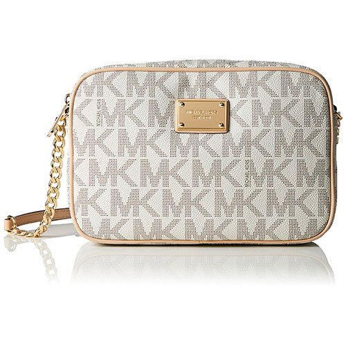 28a9e1f9567b Michael Kors Women s Jet Set Crossbody Leather Bag – Most Styled Crossbody  Bag