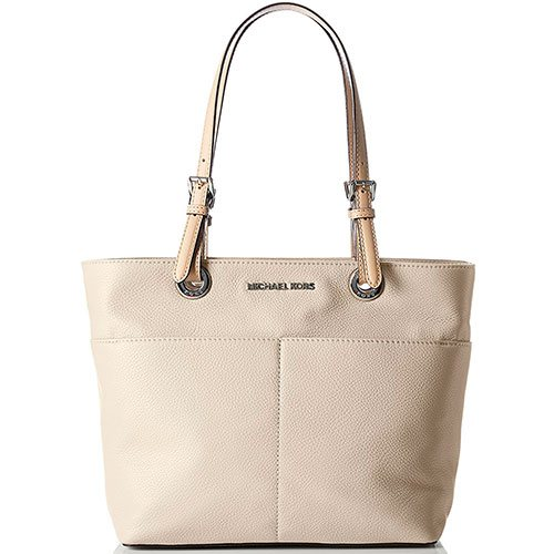 Michael-Kors-Womens-Bedford-Top-Zip-Pocket-Tote-Bag-White-Best-Tote-Top-Handle-Shoulder-Bag