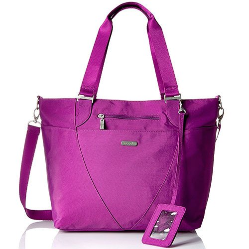Baggallini-Avenue-Lightweight-Bag-Purple-Most-Compartmented-Top-Handle-Shoulder-Bag